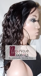 Two Tone Body Curl Lace Front