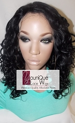 Spiral Curl Lace Front Wig
