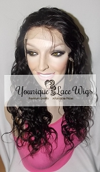 Virgin Brazilian Loose Wave Lace Front Wig