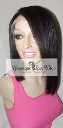 Asymmetrical Bob Full Lace Wig