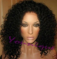 Jenny- Kinky Afro Curly Full Lace Wig