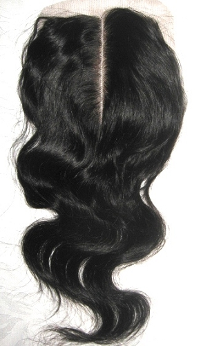 MIDDLE PART BODY WAVE LACE CLOSURE