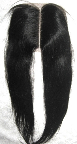 MIDDLE PART STRAIGHT LACE CLOSURE