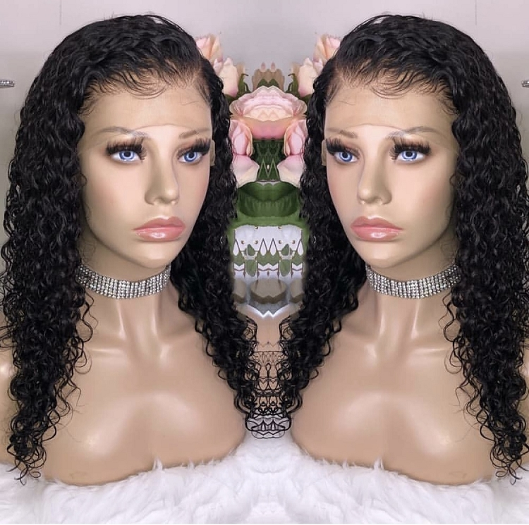 Jerry Curl Lace Front Wig
