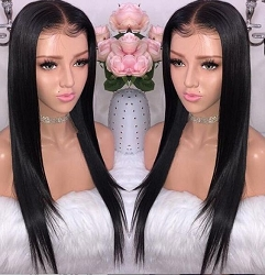 Silky Lace Front Wig