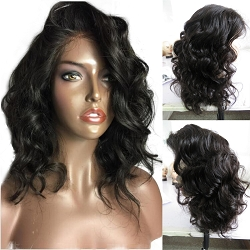Pre Plucked Short Body Curl Full Lace Wig