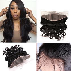 Body Wave Pre Plucked Lace Frontal