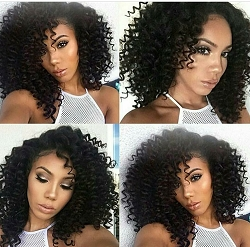 Daja- Virgin Brazilian Afro Curly