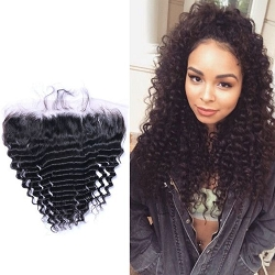 Deep Wave Pre Plucked Lace Frontal