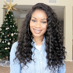 Deep Wave Full Lace Wig