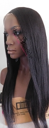 Yaki Straight Lace Front Wig
