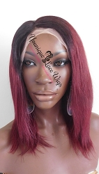 Two Tone Bob Lace Front Wig