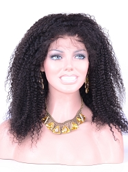 Kinky Wave Lace Front Wig