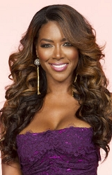 Kenya Moore Layered Body Curl Full Lace Wig