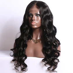 Pre Plucked Body Curl Full Lace Wig