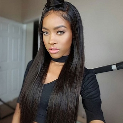 Pre Plucked Virgin Chinese Remy Full Lace Wig