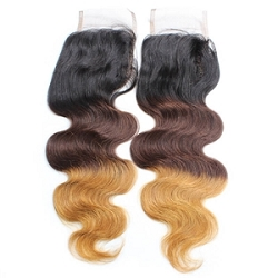 Hombre Body Wave Lace Closure 4x4