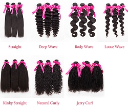 Virgin Hair Bundles ~ Choose Texture