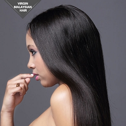 Virgin Malaysian Natural Straight Full lace Wig