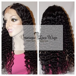 Deep Curly U part Wig