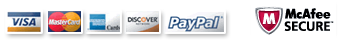 credit cards paypal secure