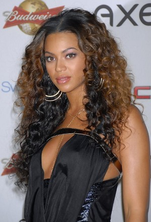 Beyonce Two Tone Curly Full Lace Wig