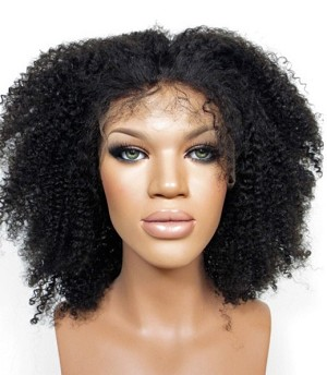Kinky Curl Lace Front Wig