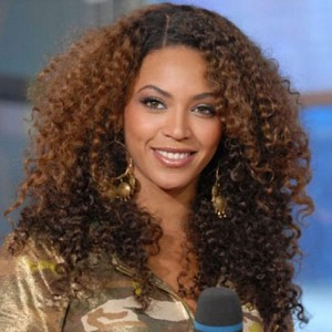 Beyonce Two Tone Kinky Curl Full Lace Wig