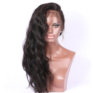 Pre Plucked Body Wave Full Lace Wig