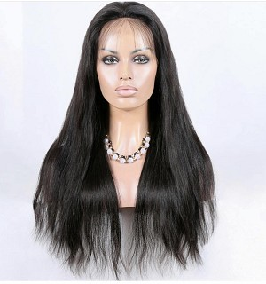 Natural Straight Lace Front Wig