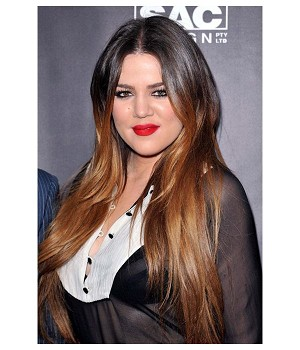 Khloe Layered Two Tone Full Lace Wig