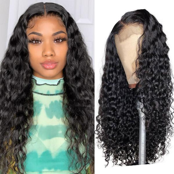 Natural Wave 4x4 Lace Front Closure Wig