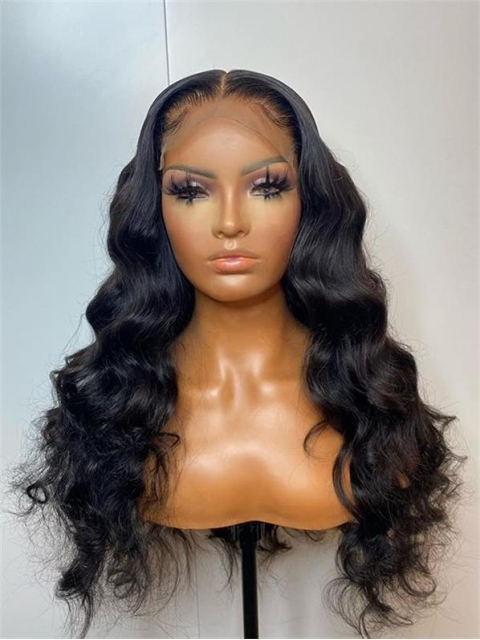 HD Loose Body Wave Lace Front Wig 13x4