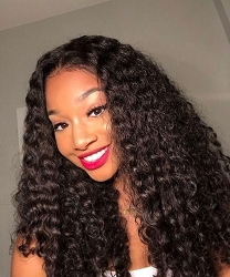 Deep Curl Lace Front Wig
