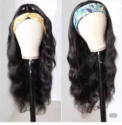 Head Band Wig ~ Loose Body Wave