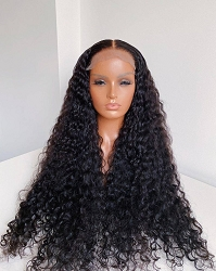 Spanish Curl 4x4 Lace Closure Wig