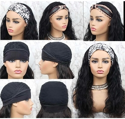 Head Band Wig ~ Body Wave