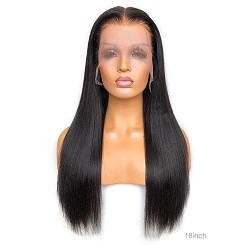 HD Middle Part Straight Lace Front Wig 13x4