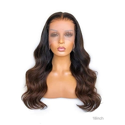 HD Hombre Body Wave Lace Front Wig 13x4