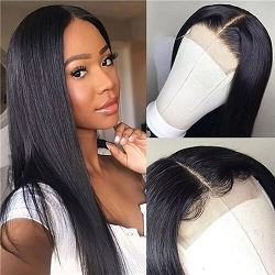 Natural Straight 4x4 Closure Wig